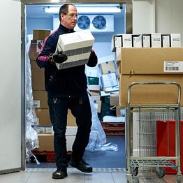Asbjørn der arbejder i Rema 1000 i Viborg i KLAP Job